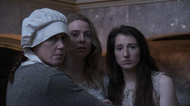 A scene from the docu-drama Cogadh Ar Mhná