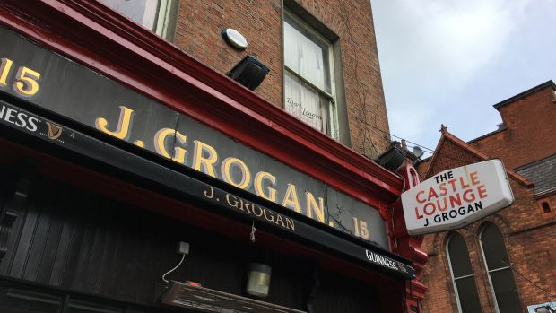 Grogans pub on South William Street Dublin. File photograph: Bryan O'Brien