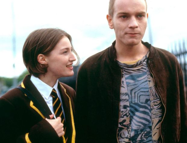 Macdonald with Ewan McGregor in Trainspotting: 'Ewan had done a lot of sex scenes and made me feel as comfortable as I could be.' Photograph: Prod DB/Alamy