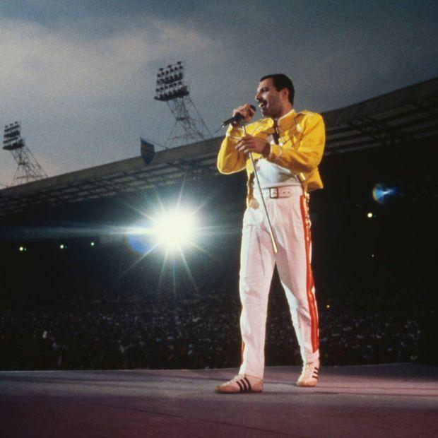 Freddie Mercury.  Photograph: Dave Hogan / Getty