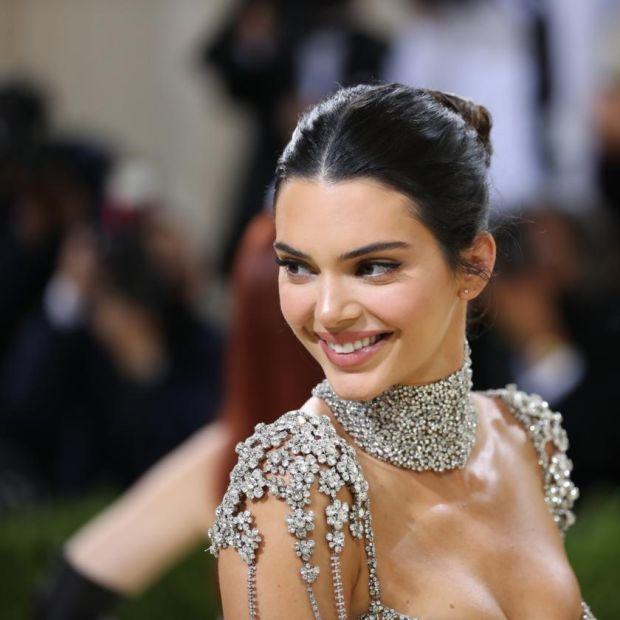 Kendall Jenner at the Metropolitan Museum of Art's Costume Institute benefit gala in New York, Sept. 13, 2021. (Calla Kessler/The New York Times)
