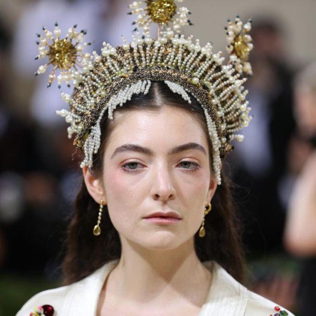 Lorde at the Metropolitan Museum of Art's Costume Institute benefit gala in New York, Sept. 13, 2021. (Calla Kessler/The New York Times)