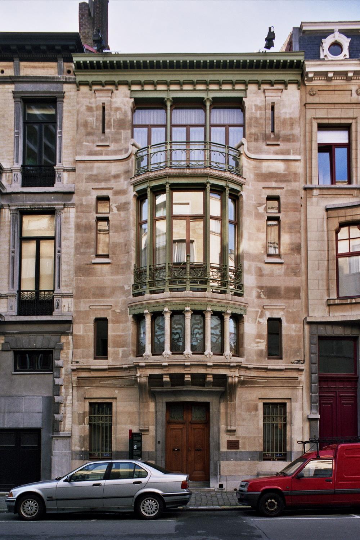 Brussel Uitbreiding Zuid  Huis Tassel  Paul Emile