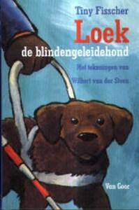 Bookcover: Loek, de blindengeleidehond