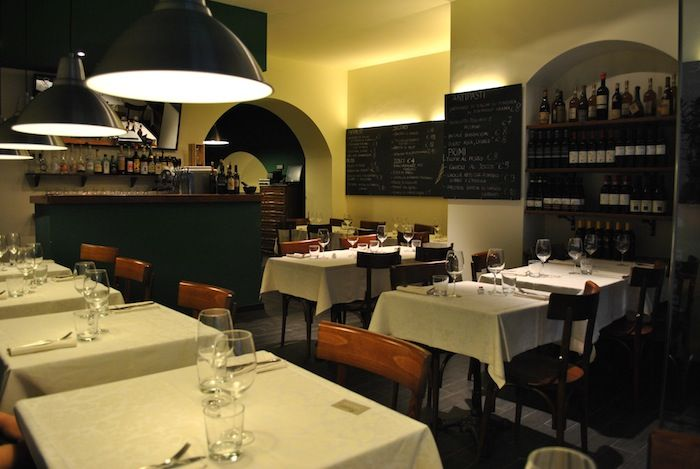 Trattoria Rosmarino GENOVA ristorante cucina Ligure