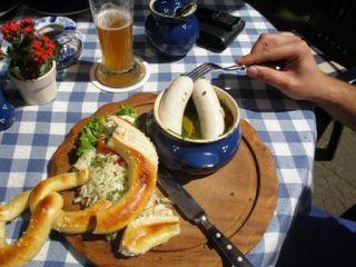 Ristoranti cucina bavarese birra e piatti tipici nei ristoranti etnici bavaresi e locali tipici