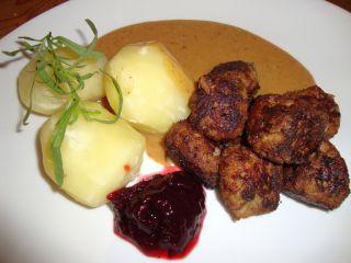 Cucina svedese al ristorante etnico svedese con piatti