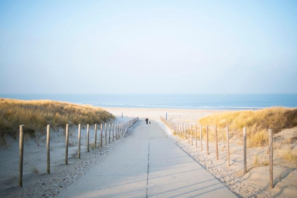 Spontaan naar het strand