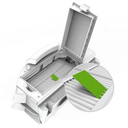 cambiar limpiar filtro roomba robot aspirador rumba recambios instrucciones
