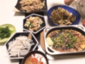 野菜メインの料理