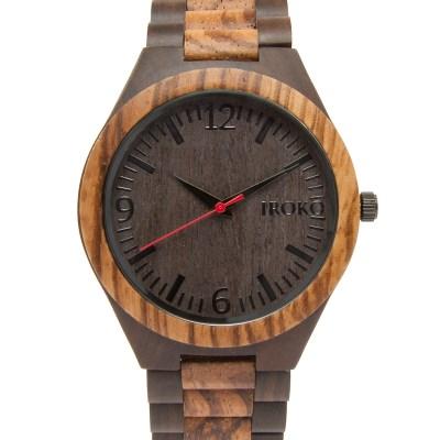 reloj de madera modelo tramontana