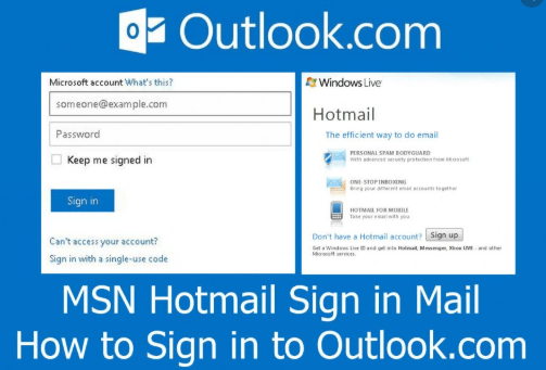 Msn Hot Mail Sign Up For Microsoft Hotmail Account