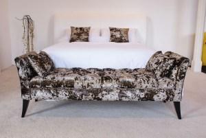 Bed end by lounje
