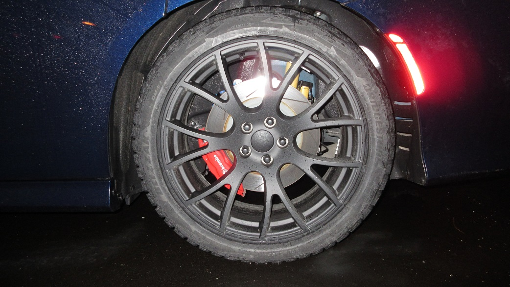 winter wheel tire package for my srt 392