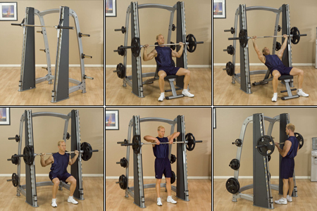 Pro Clubline Counter Balanced Smith Machine Body Solid