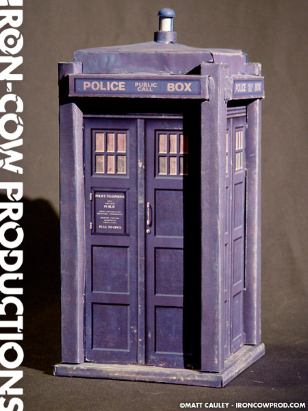 Iron Cow Productions The TARDIS