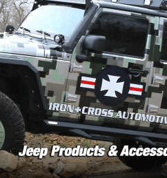 iron cross jeep products and accessories [ 1920 x 510 Pixel ]