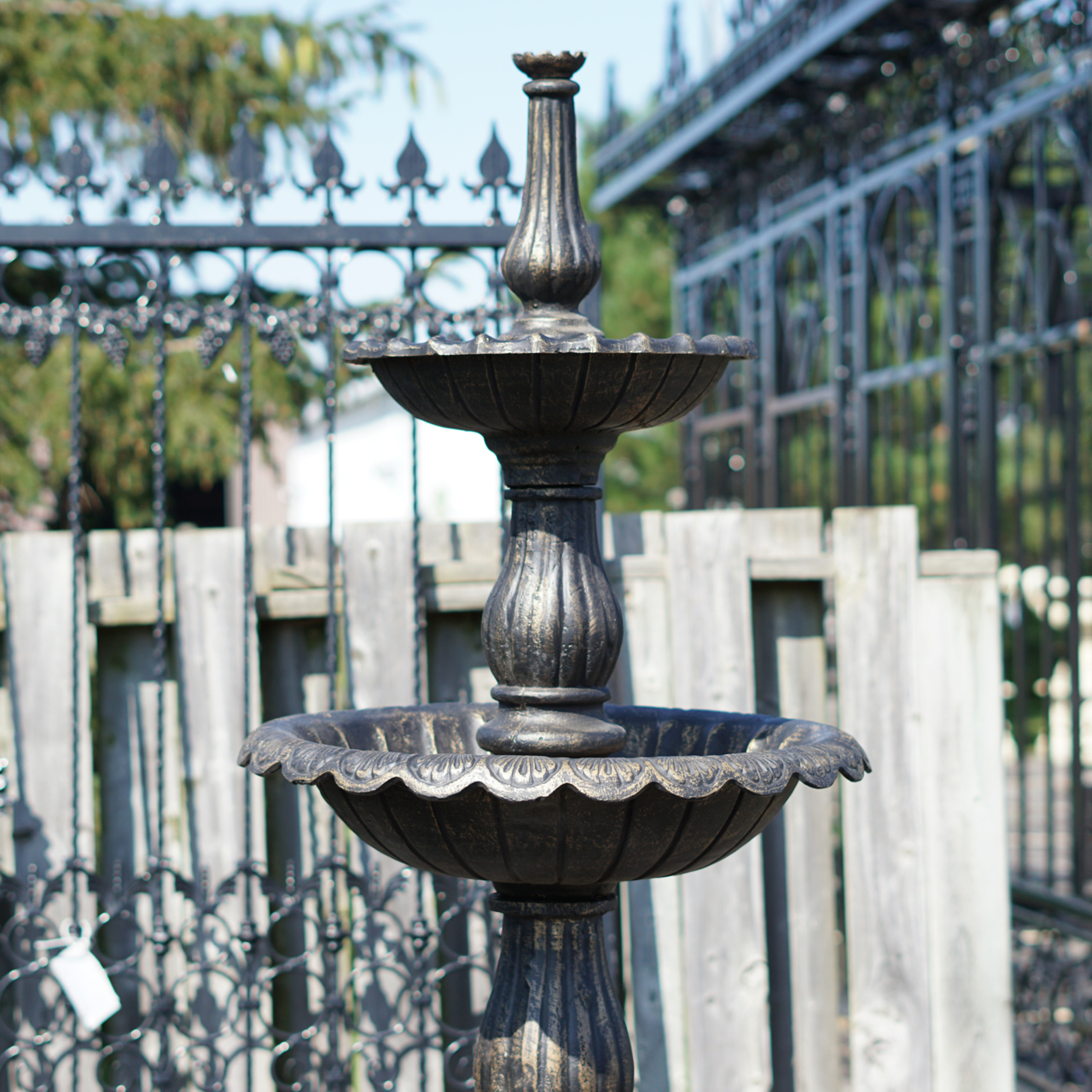 Three Tier Cast Iron Garden Fountain IronGate Garden