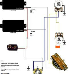 guitar wiring diagrams 2 humbucker wiring diagram userirongear pickups wiring guitar wiring diagrams 2 humbucker 5 [ 1263 x 1657 Pixel ]
