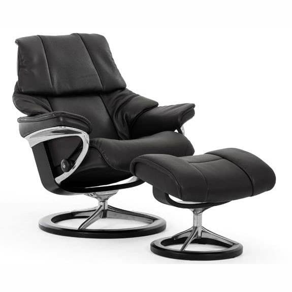 Stressless Reno Family of Recliners  Ironhorse Home Furnishings