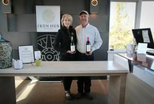 Iron Hub Winery's Tom and Beth Jones