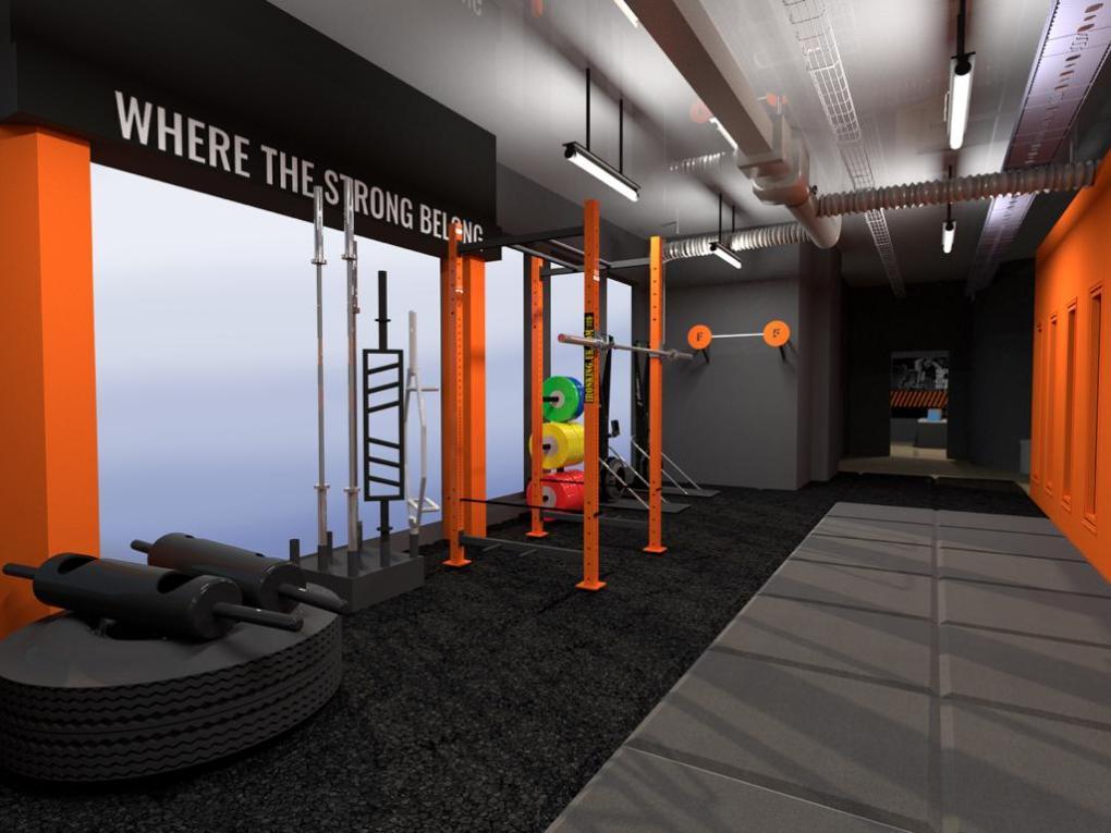 3D Design of The Foundry Gym Equipment