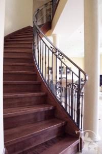 Wrought Iron Interior Railings Photo Gallery | Iron Master