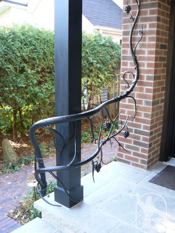 Hand Forged Wrought Iron Trees Images