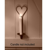 Gothic wall sconce candle holder | Ironmongery World