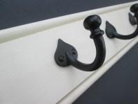 White wooden coat rack | Ironmongery World