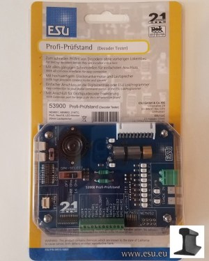 ESU 53900 LokSound DCC Decoder Tester ~ Motor, LED Monitor, Speaker