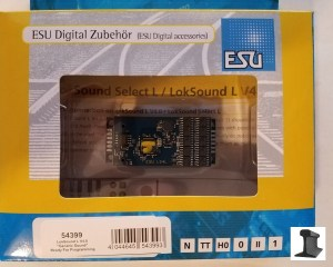 ESU 54399 LokSound XL V4.0 DCC Decoder Multi-Pin Connect~ Factory Sound