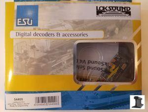 ESU 54400 LokSound V4.0 DCC Sound Decoder 8 Pin With Speaker ~ Factory