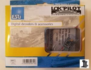 ESU 54611 LokPilot V4.0 DCC Decoder With 8-Pin Plug NMRA NEM652