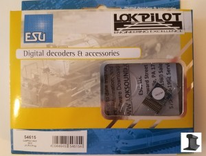 ESU 54615 LokPilot V4.0 DCC Mobile Decoder With 21 Pin MTC plug