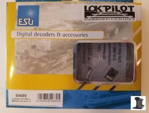 ESU Decoder 54689 LokPilot Micro DCC Decoder MM/DCC/SX Next 18 Version