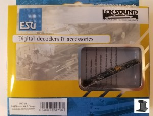 ESU 54700 LokSound V4.0 Direct DCC Sound Decoder & Main Board ~ Factory Sound