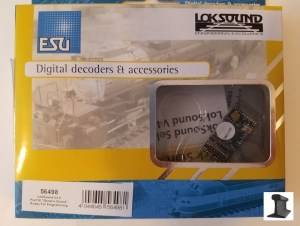 ESU 56498 LokSound V4.0 PluX16 DCC Sound Decoder With Speaker ~ Factory Sound