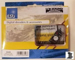 ESU 66498 LokSound V4.0 PluX16 NEM658 With Speaker ~ Factory Sound