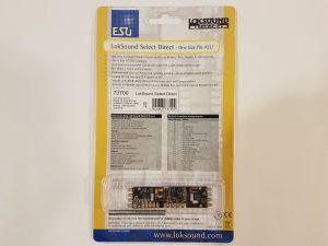 ESU 73700 LokSound Select Direct DCC Sound Decoder