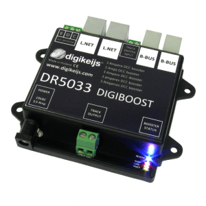Digikeijs DR5033 Booster Only ~ Works With Digitrax, NCE, MRC, Lenz, Etc
