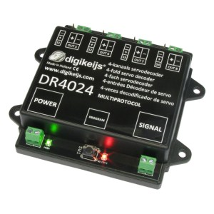 Digikeijs DR4024 Servo Decoder ~ Works With All DCC Brands