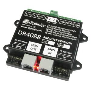 Digikeijs DR4088OPTO 16 Channel Feedback Occupancy Detector ~ S88N & S88 Inputs