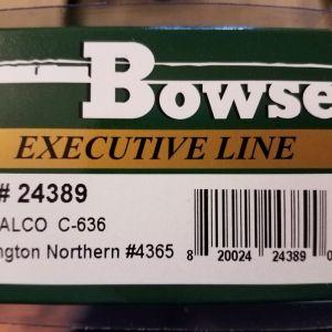 Bowser HO Burlington Northern Alco Century C-636 #4365 DCC Ready 24389