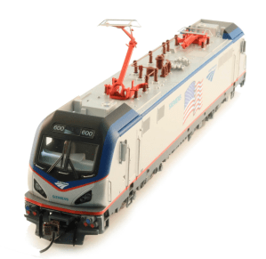 Bachmann 67404 HO Amtrak Demonstrator Siemens ACS-64 Flag ~ DCC WOW Sound