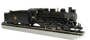 Bachmann HO Jersey Central #105 USRA 0-6-0 With Smoke
