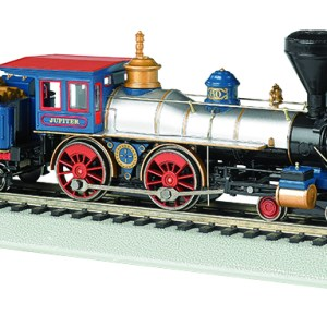 Bachmann HO Central Pacific 'Jupiter' American 4-4-0 DCC Sound Value
