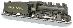 Bachmann HO Union Pacific 2-6-2 Prairie #1836 With Smoke 51501
