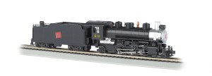 Bachmann HO Canadian National #613 2-6-2 Prairie With Smoke 51524