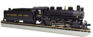 Bachmann HO B&O Baltimore & Ohio 2-6-2 Prairie With Smoke 51527